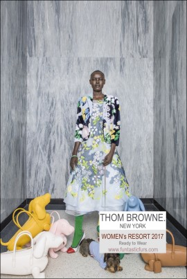 Thom Browne Women Resort 2017 Ready-To-Wear1