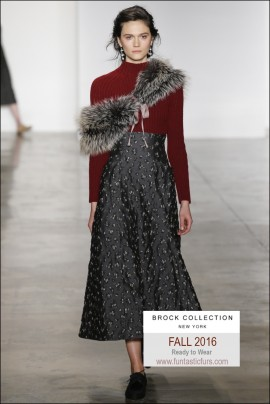 Brock Collection Fall 2016 Ready-To-Wear5